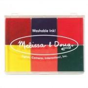 Rainbow Stamp Pad Arts & Crafts Kit [Set of 2] by Melissa & Doug
