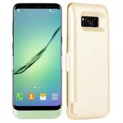 Acumulator Power Case 20000mAh pentru Samsung S8, Gold