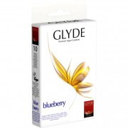 Glyde Ultra Blueberry - 10 Stück - Kondome - Kosmetik