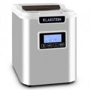 KLARSTEIN ICE6 ICEMEISTER, устройство за приготвяне на кубчета лед, 12 кг / 24 ч., От неръждаема стомана, БЯЛ