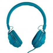 Casti Akyta AC HS04 cu microfon culoare bleu