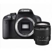 Camera foto Canon DSLR EOS 700D + EF-S 18-55 DC STM Black