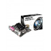 ASRock D1800B-ITX Moderkort - Intel Bay Trail-D - Intel Onboard CPU socket - DDR3 RAM - Mini-ITX