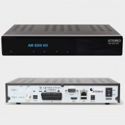 Atemio AM 5200 HD TWIN SAT - 2x DVB-S2, Linux OS