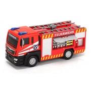 Dickie-Spielzeug 203712008 - Vigili del fuoco, Man Fire Engine, rosso