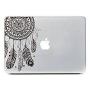 """Vati Feuilles amovible Dream Catcher Meilleur vinyle autocollant Decal peau Black Art Parfait pour Apple MacBook Pro Air Mac 13 """"pouces / Unibody 13 pouces pour ordinateur portable"""