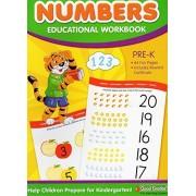 Numbers Educational Workbook - Good Grades - Pre-k Grade