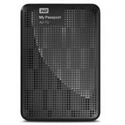 HDD Extern WD My Passport AV-TV, 2.5, 1TB, USB 3.0, black