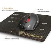Gamdias EREBOS Extension Laser Gaming Mouse