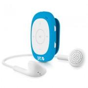 SPC 8584A Reproductor MP3 4GB Radio Clip Azul