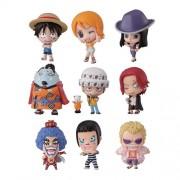 Bandai Tamashii Nations One Piece Deform Master Petite Toy Figures, Set of 10 (japan import)
