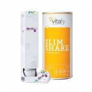 Vitafy Essentials DrSlym Konzentrat (10x30ml) + Vitafy Essentials Slim Shake (500g)