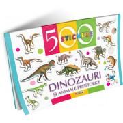 Unicart 500 de Stickere pentru 3-5 ani Dinozauri