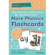 Read Write Inc. Phonics: More Phonics Flashcards by Ruth Miskin