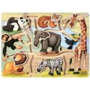 Wild Republic Wood Puzzle Slide Animal