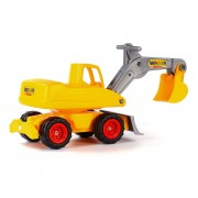 Polesie Wader Ride-on Excavator Mega Yellow 1450581