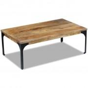 vidaXL Tavolino da Caffè in Legno di Mango 100x60x35 cm