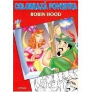 Coloreaza Povestea Robin Hood