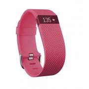 Fitbit Charge HR - rastreadores de actividad (Brazalete, OLED, Inalámbrico, Polímero de litio, Rosa, Elastómero, Acero inoxidable)