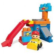 Mega Bloks Spin 'n Play Spinning Garage Playset