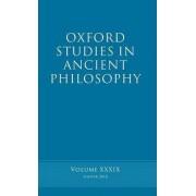 Oxford Studies in Ancient Philosophy volume 39 by Brad Inwood