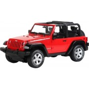 BRC 10.110 Távirányítós RC autó Jeep Wrangler piros
