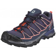 Salomon X Ultra Prime Hiking Shoes Women nightshade grey/deep blue/coral punch 42 2017 Multifunktionsschuhe