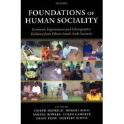 Foundations of Human Sociality by Joseph Henrich