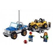 Lego City Great Vehicles Dune Buggy Trailer (222pcs) Figures Building Block Toys