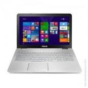 Лаптоп ASUS N551JX-CN272T, i7-4720HQ, 15.6 инча, 8GB, 1TB, Win 10/ASUS N551JX-CN272T /I7-4720HQ