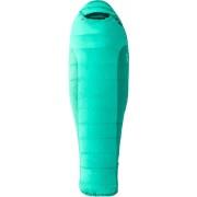 Marmot W's Angel Fire Sleeping Bag Long Gem Green/Green Garnet 2017 Dunsovsäckar mellan 0 och -10