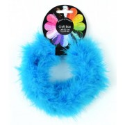 Touch of Nature 1-Piece Feather Marabou Craft Boa, 1-Yard, Turquoise