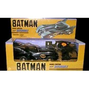 Toy Biz Batman Radio Control Batmobile RC Remote Controlled Car Vehicle 1989 Marvel Comics Collectible