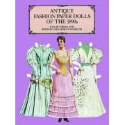 Antique Fashion Paper Dolls of the 1890s in Full Colour by Boston Children's Museum
