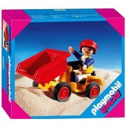 Playmobil Child with Tipping Tractor