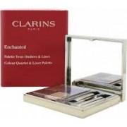 Clarins Enchanted Colour Quartet & Liner Palette 4.9g (5 x Ombretti + 2 x Applicatori)
