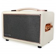 HolySmoke Retro Bluetooth Speaker - White - Newnest