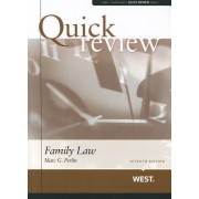 Sum and Substance Quick Review of Family Law by Marc Perlin