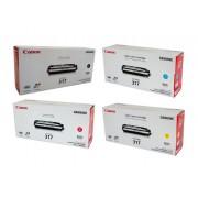 Canon CART-317BK, C, M, Y Set of 4 Colour Toner Cartridges