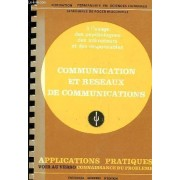 Connaissance Du Probleme : Communication Et Reseaux Des Communications - Application Pratique Voir Au Verso