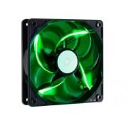 Cooler Master SickleFlow Silent 120mm Green LED Case Fan (R4-L2R-20AG-R2)