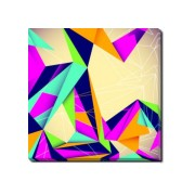 Tablou Canvas Origami-Abstract