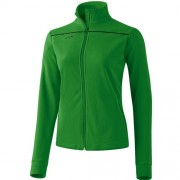 erima Damen-Fleecejacke OUTDOOR - deep sage/schwarz | 36