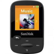 """SANDISK SDMX24-008G-A46K 8GB 1.44"""""""" Clip Sport MP3 Players (Black)"""