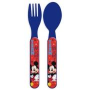 Mickey egér műanyag evőeszköz készlet