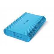 Sony HD-SP1 Shock-proof 1 TB External Hard Drive with Backup Manager (Blue)