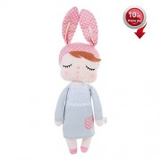 Stuffed Doll Toys Bunny Girls Baby Plush Doll 14 inch Soft Cuddly Doll for Babies Kids - Birthday Gifts