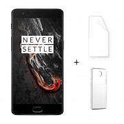 """Oneplus 3T 6 + 128GB Tres T 4G LTE Dual Sim Android 6.0 Quad Núcleo 5.5 """"FHD 16 + 16MP Negro + Protector De Pantalla + Estuche"""