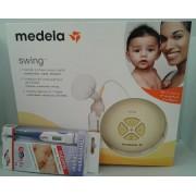 Medela Bomba de Leite Elétrica Swing+ oferta termometro digital
