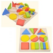 Yizhi Calidad Estable Wooden Puzzle Geometric Shapes para 3 Year Old and Up Perfect Christmas Gift